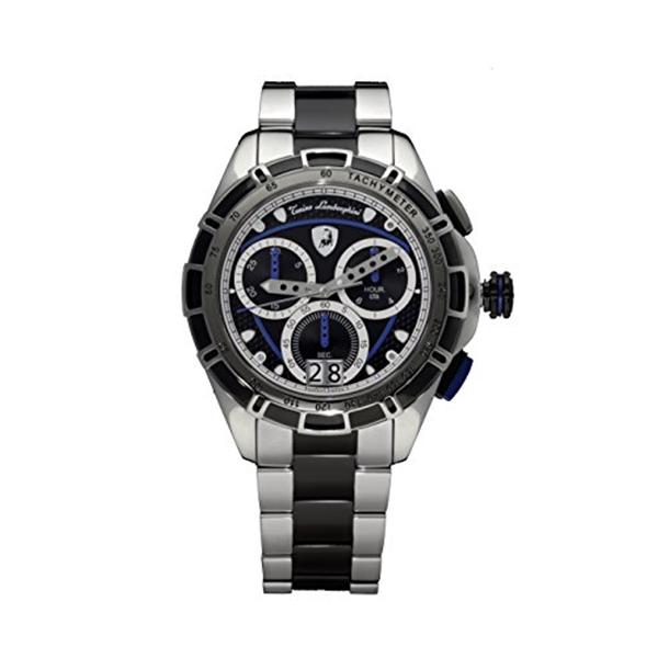ランボルギーニ 腕時計 時計 Tonino Lamborghini Men's Chronograph Watch 9060 Stainless Steel Blue