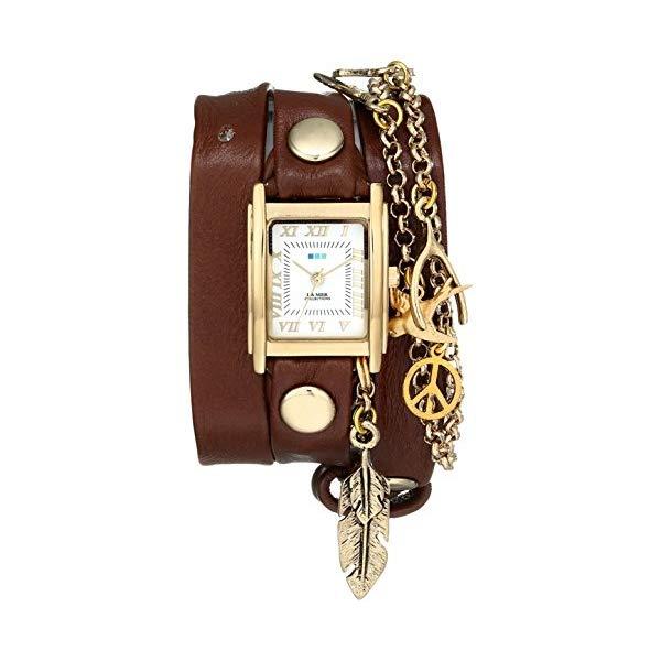 ラメール コレクションズ 腕時計 La Mer Collections LMCW1006 レディース ウォッチ 女性用 La Mer Collections Women's LMCW1006 Peace Pipe Charm Chain Wrap Watch