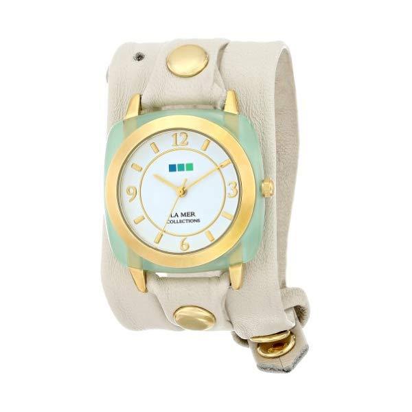 ラメール コレクションズ 腕時計 La Mer Collections LMACETATE005 レディース ウォッチ 女性用 La Mer Collections Women's LMACETATE005 Chrysophrase Acetate Wrap Watch
