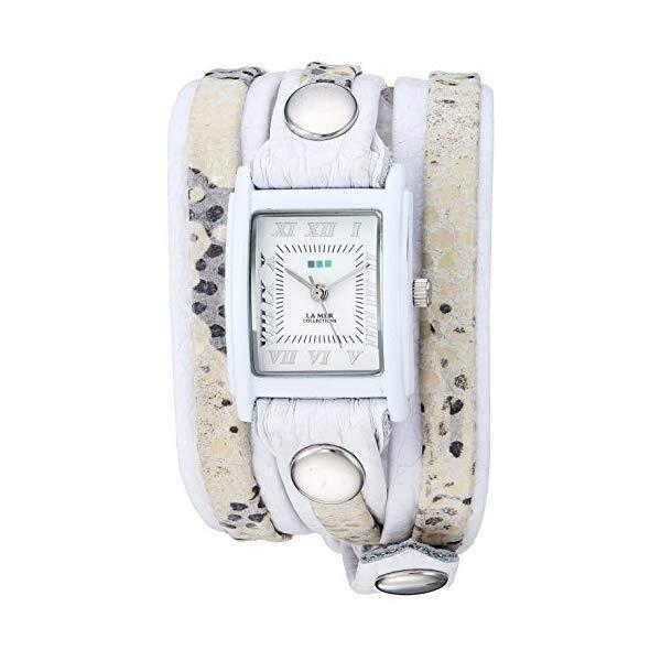 ラメール コレクションズ 腕時計 La Mer Collections LMLW2017A レディース ウォッチ 女性用 La Mer Collections Women's LMLW2017A Layer Watch Collection Analog Display Japanese Quartz White Watch