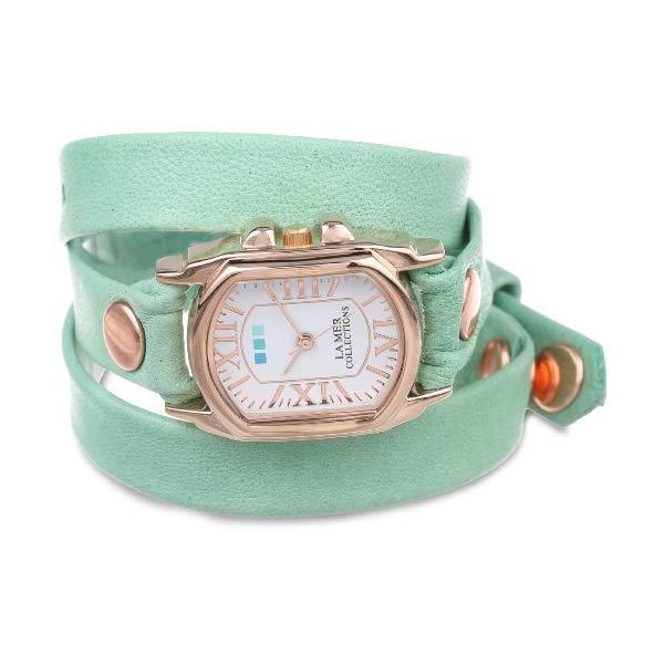 ラメール コレクションズ 腕時計 La Mer Collections LMCHATEAU1002 レディース ウォッチ 女性用 La Mer Collections Women's LMCHATEAU1002 Melon Rose Gold Chateau Wrap Watch