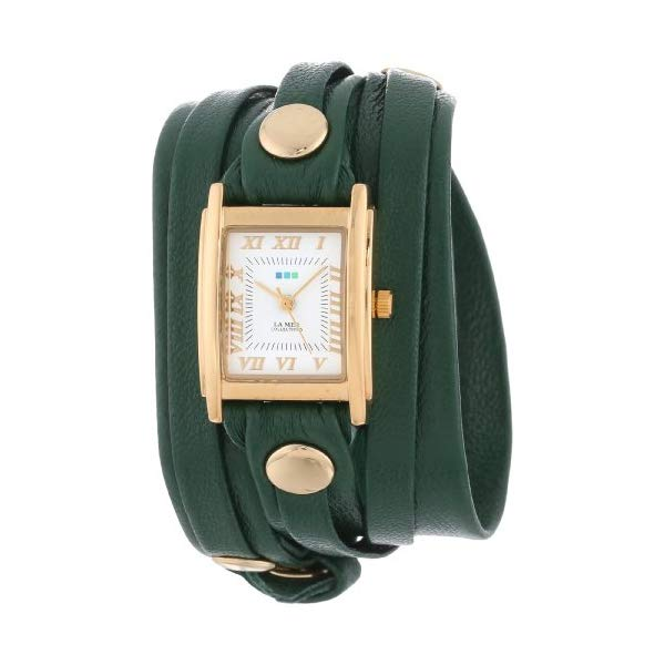 ラメール コレクションズ 腕時計 La Mer Collections LMLW2000 レディース ウォッチ 女性用 La Mer Collection's Women's LMLW2000 Emerald Layer Wrap Watch