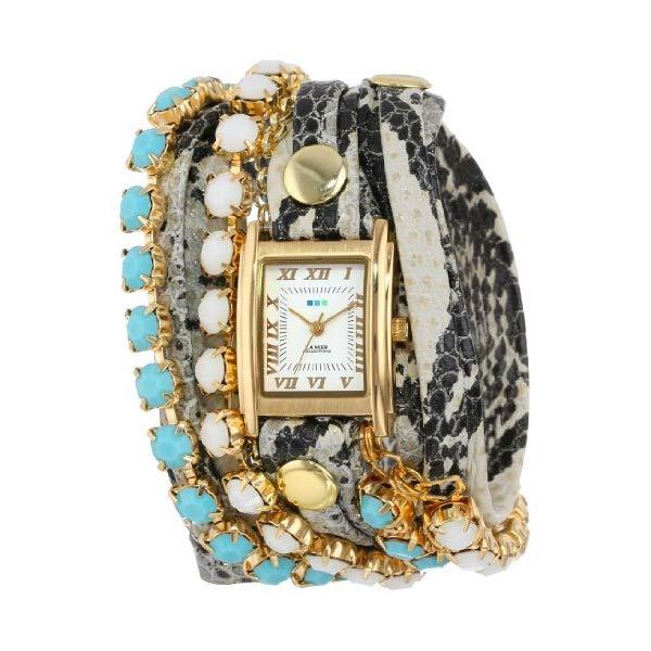 ラメール コレクションズ 腕時計 La Mer Collections LMMULTI5003 レディース ウォッチ 女性用 La Mer Collections Women's LMMULTI5003 Chandelier Crystal Chain Collection Colette Watch