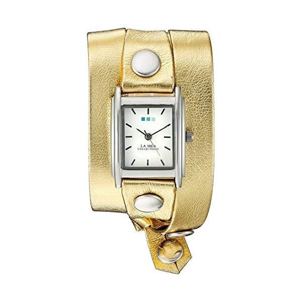 ラメール コレクションズ 腕時計 La Mer Collections WANDERLUST00002 レディース ウォッチ 女性用 La Mer Collections WANDER LUST 00002 0.5mm Leather Synthetic Gold Watch Bracelet