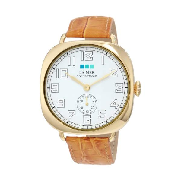 ラメール コレクションズ 腕時計 La Mer Collections LMOVW2049 レディース ウォッチ 女性用 La Mer Collections Women's LMOVW2049 Gold-Tone Oversized Vintage Watch