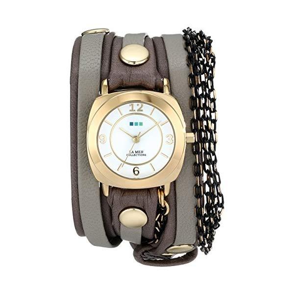 ラメール コレクションズ 腕時計 La Mer Collections LMMULTICW2001 レディース ウォッチ 女性用 La Mer Collections Women's LMMULTICW2001 Aperitif Chain Wrap Watch