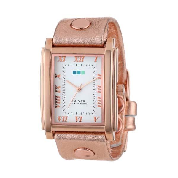 ラメール コレクションズ 腕時計 La Mer Collections LMHOZ1000 レディース ウォッチ 女性用 La Mer Collection's Women's LMHOZ1000 Rose Gold Oversize Watch