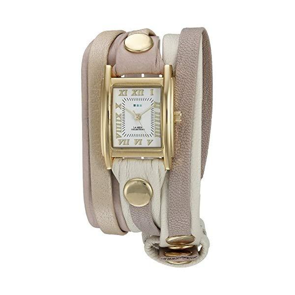 ラメール コレクションズ 腕時計 La Mer Collections LMLWMIX2505 レディース ウォッチ 女性用 La Mer Collections Women's LMLWMIX2505 Shibuya Mix-Up Layer Wrap Watch