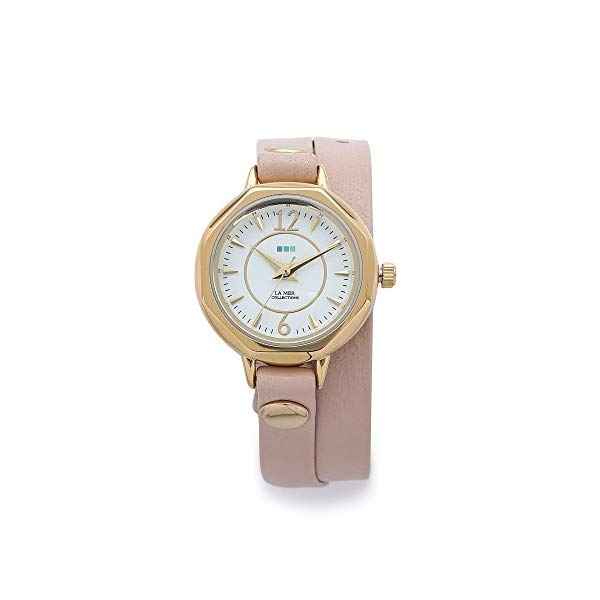 ラメール コレクションズ 腕時計 La Mer Collections LMDELMARDW1502 レディース ウォッチ 女性用 La Mer Collections Women's Wrap Watch, Blush, One Size