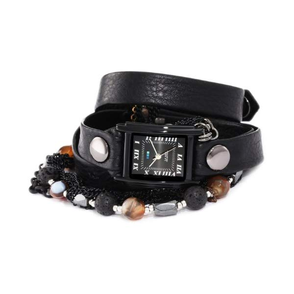 ラメール コレクションズ 腕時計 La Mer Collections LMMULTI7002 レディース ウォッチ 女性用 La Mer Collections Women's LMMULTI7002 Phantom Collection Lava Stone Wrap Watch