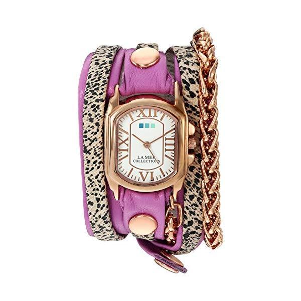ラメール コレクションズ 腕時計 La Mer Collections LMMULTI2016316 レディース ウォッチ 女性用 La Mer Collections Women's 'Gold Motor Chain' Quartz and Leather Watch, Multi Color (Model: LMMULTI2016316)