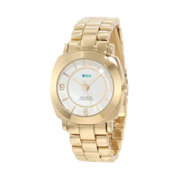 ラメール コレクションズ 腕時計 La Mer Collections LMODYSSEYLINK001 レディース ウォッチ 女性用 La Mer Collections Women's LMODYSSEYLINK001 Gold Mini Linked Odyssey Watch