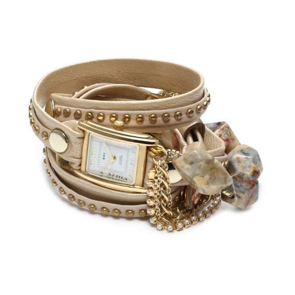 ラメール コレクションズ 腕時計 La Mer Collections LMMULTI7010 レディース ウォッチ 女性用 La Mer Collections Women's LMMULTI7010 Stone and Chain Collection Chapman's Peak Stones Wrap Watch