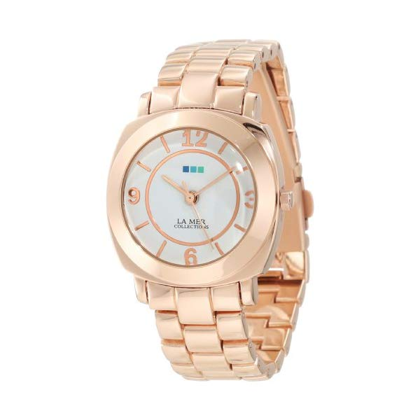 ラメール コレクションズ 腕時計 La Mer Collections LMODYSSEYLINK002 レディース ウォッチ 女性用 La Mer Collections Women's LMODYSSEYLINK002 Rose Gold Mini Linked Odyssey Watch