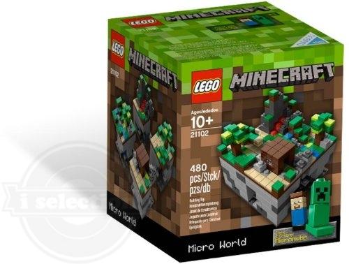 独特な店 【円高還元 World!送料無料】輸入品 LEGO レゴ Micro マインクラフト Minecraft レゴ Micro World 21102 CUUSOO, 鶴吉羊羹 常盤木羊羹店:0592e845 --- canoncity.azurewebsites.net