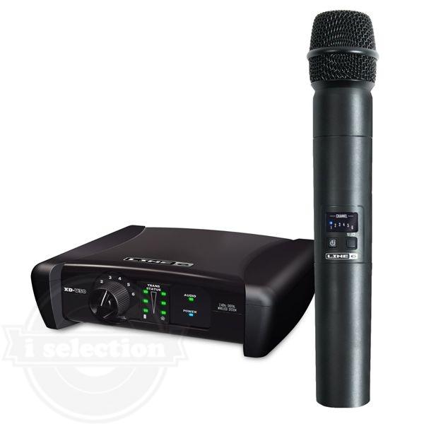【LINE6(ライン6) デジタルワイヤレスマイクシステム XD-V30 Digital Wireless Handheld Microphone System】
