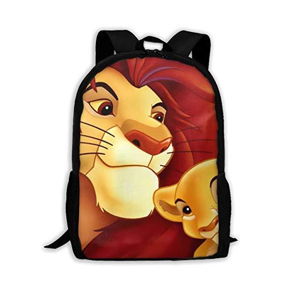 ライオンキング リュック 与え バックパック バッグ カバン 鞄 グッズ サービス おもちゃ ディズニー Lion Lunch School Bag King Travel Backpack Set BoysGirls Daypack Bookbag