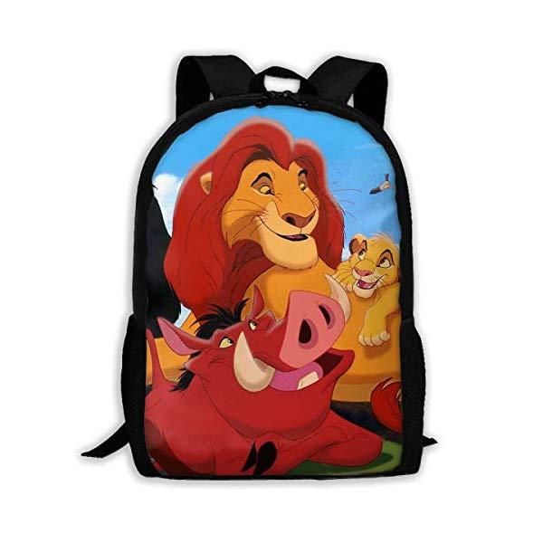 ライオンキング リュック バックパック バッグ カバン 鞄 グッズ おもちゃ ディズニー Lion King School Backpack Lunch Bag Set School Bag Boys&Girls Bookbag Travel Daypack