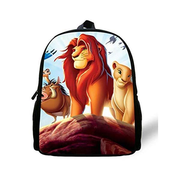 ライオンキング リュック 即納送料無料! バックパック バッグ カバン 鞄 グッズ おもちゃ ディズニー Simba Cartoon セール商品 King Kids Lion Bags Backpack Boys School The