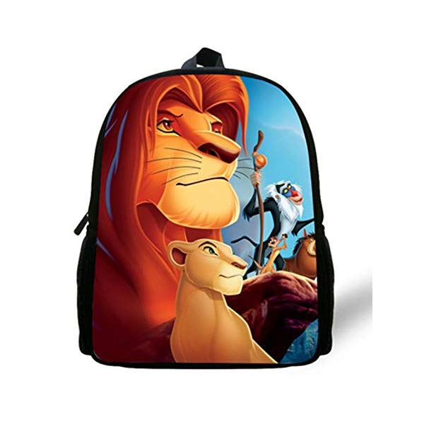 <title>お見舞い ライオンキング リュック バックパック バッグ カバン 鞄 グッズ おもちゃ ディズニー Simba The Lion King Backpack Kids Boys Cartoon School Bags</title>
