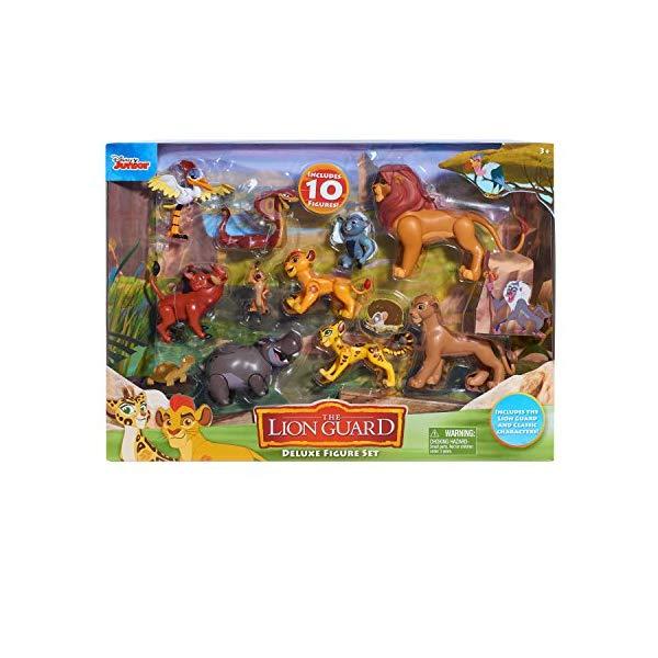 ライオンキング ライオンガード デラックス フィギュア セット グッズ おもちゃ ディズニー Just Play Lion Guard Deluxe Figure