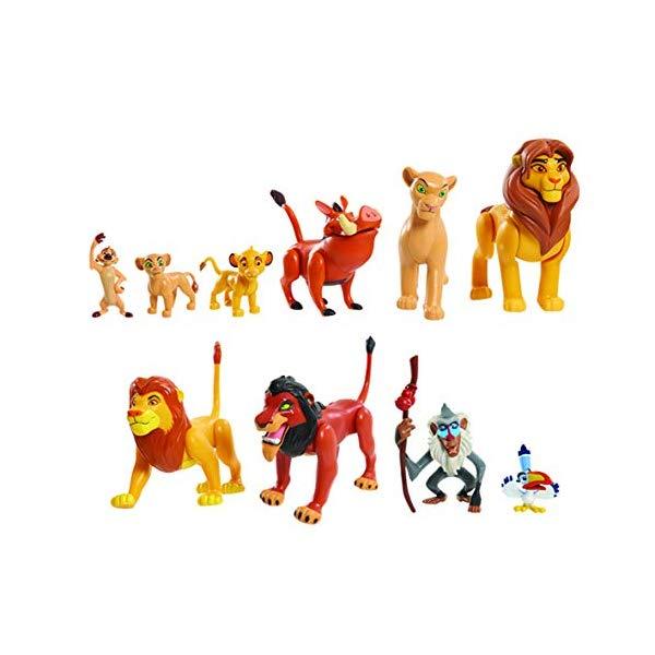 ライオンキング ライオンガード フィギュア セット グッズ おもちゃ ディズニー JP Lion Guard LNN08000 The Lion King Deluxe Figure Set, Nylon/A