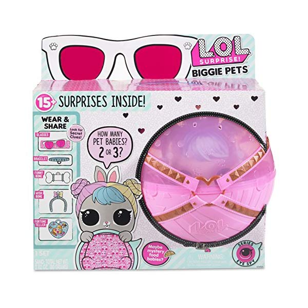 LOLサプライズ グッズ フィギュア ドール 人形 L.O.L. Surprise! Biggie Pet-Dollmation