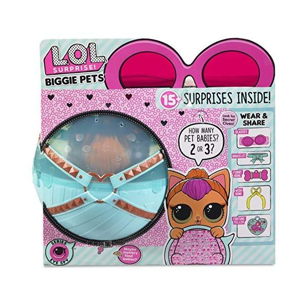 LOLサプライズ グッズ フィギュア ドール 人形 L.O.L. Surprise! Biggie Pet- Neon Kitty