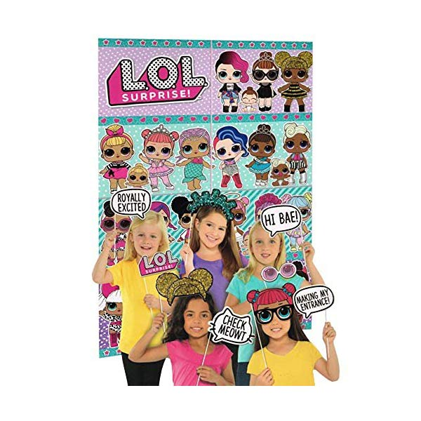 LOLサプライズ グッズ フィギュア ドール 人形 LOL Surprise! Wall Poster Decorating Kit w/Photo Props (16pc)