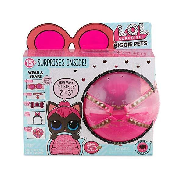LOLサプライズ グッズ フィギュア ドール 人形 ペット L.O.L. Surprise! Biggie Pet - Spicy Kitty