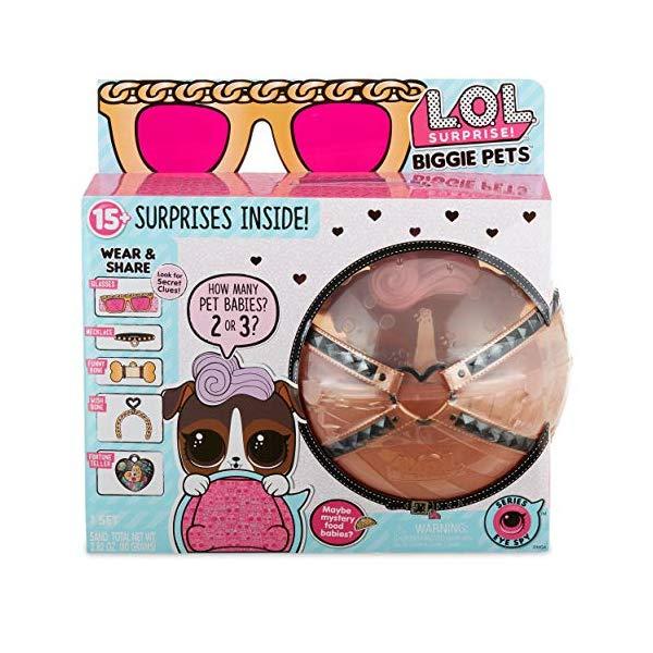 LOLサプライズ グッズ フィギュア ドール 人形 ペット L.O.L. Surprise! Biggie Pet- D.J. K9