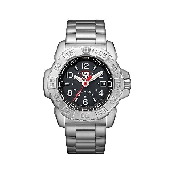 最新の激安 ルミノックス Luminox 3252) 腕時計 時計 ウォッチ メンズ 男性用 ウォッチ ミリタリー Luminox ルミノックス Men's SEA Swiss-Quartz Watch with Stainless-Steel Strap, Silver, 24 (Model: 3252), アルマジロ:f2accafb --- thegirlleadproject.org