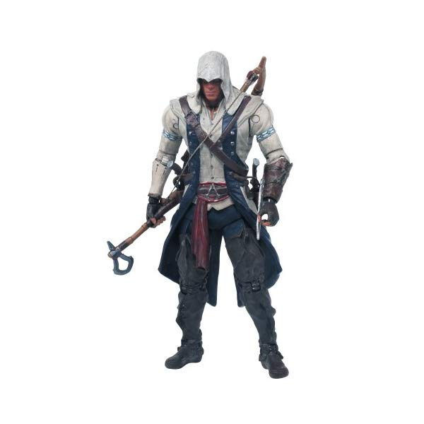マクファーレン トイズ アサシンクリード アクションフィギュア 人形 McFarlane Toys Assassin's Creed Connor Action Figure