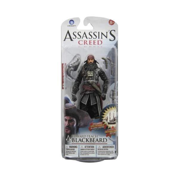 マクファーレン トイズ アサシンクリード アクションフィギュア 人形 McFarlane Toys Assassin's Creed Series 1 Blackbeard Edward Teach-Action Figure