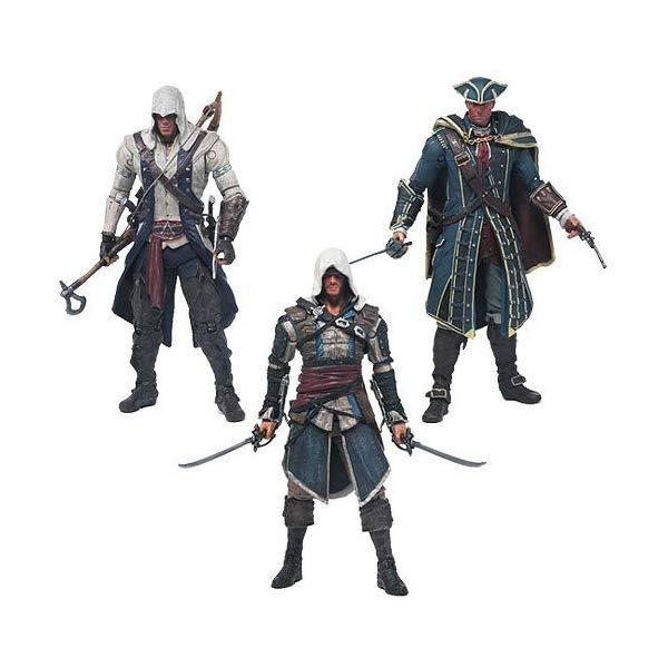 マクファーレン トイズ アサシンクリード アクションフィギュア 人形 Assassin's Creed Series 1 Action Figure Set