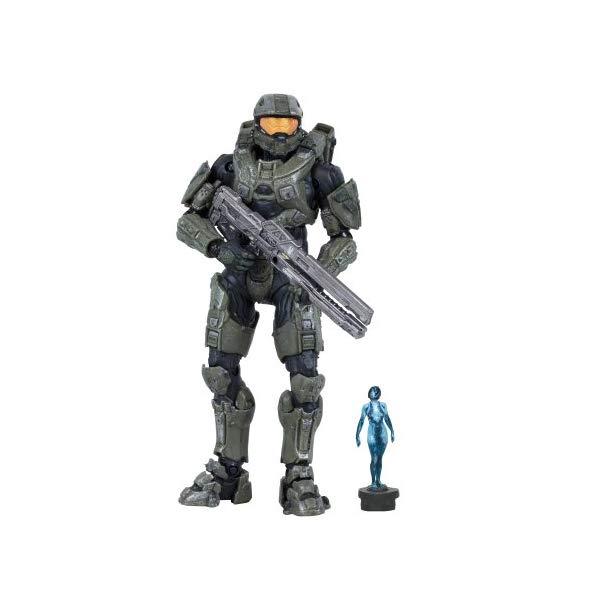 マクファーレン トイズ ヘイロー アクション フィギュア ダイキャスト McFarlane Toys Halo 4 Series 2 - Master Chief with Railgun and Micro Ops Cortana