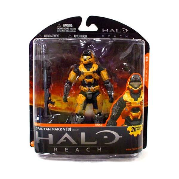 マクファーレン トイズ ヘイロー アクション フィギュア ダイキャスト Halo Reach McFarlane Toys Series 1 Exclusive Action Figure ORANGE Spartan Mark V B (Male)