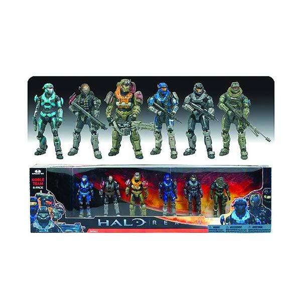 マクファーレン トイズ ヘイロー アクション フィギュア ダイキャスト McFarlane Toys - Halo Reach pack 6 figurines deluxe Noble Team 17 cm by Unknown