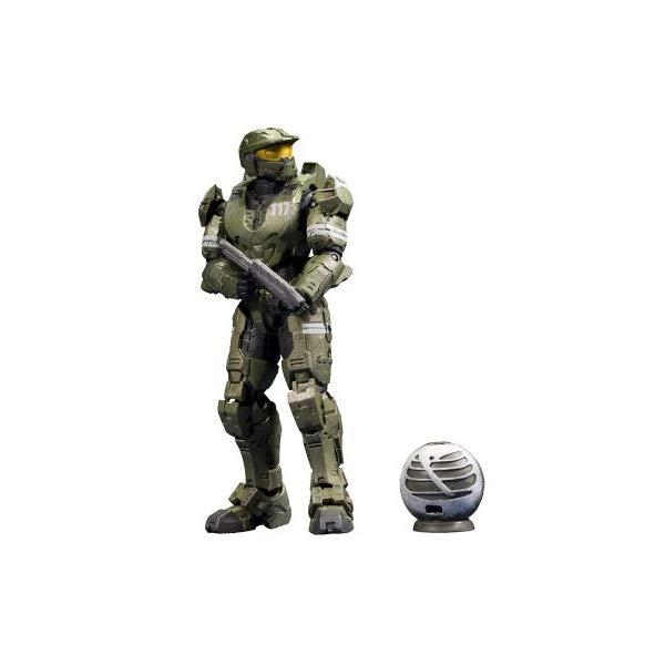 マクファーレン トイズ ヘイロー アクション フィギュア ダイキャスト McFarlane Toys Halo Anniversary Series 2 - The Package Master Chief Figure