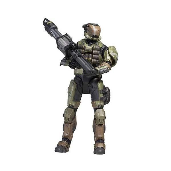 マクファーレン トイズ ヘイロー アクション フィギュア ダイキャスト McFarlane Toys Halo Reach Series 5 Spartan Gungnir Custom Action Figure