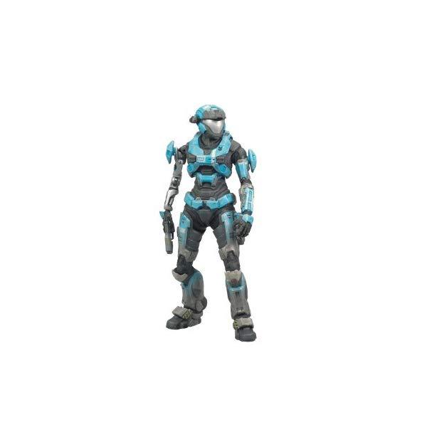 マクファーレン トイズ ヘイロー アクション フィギュア ダイキャスト McFarlane Toys Halo Reach Series 2 - Kat Action Figure Cyan