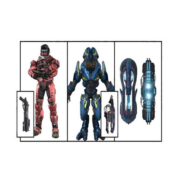 マクファーレン トイズ ヘイロー アクション フィギュア ダイキャスト McFarlane Toys Halo Reach Series 6 Invasion Deluxe Box Set