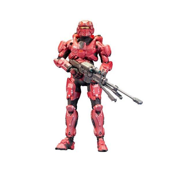マクファーレン トイズ ヘイロー アクション フィギュア ダイキャスト McFarlane Toys Halo 4 Series 1 - Red Spartan Soldier with Sniper Rifle Action Figure
