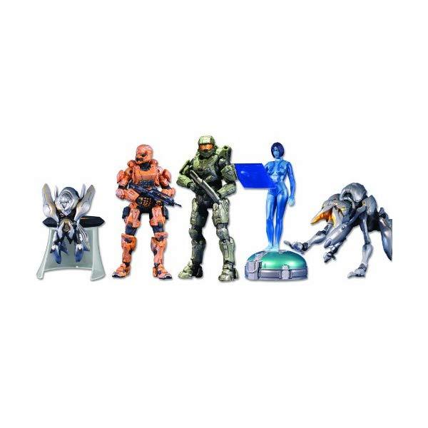 マクファーレン トイズ ヘイロー アクション フィギュア ダイキャスト McFarlane Toys Halo 4: 5-Pack w/Exclusive Orange Spartan Soldier