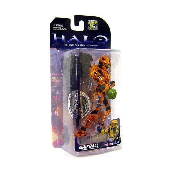 マクファーレン トイズ ヘイロー アクション フィギュア ダイキャスト Halo 3 McFarlane Toys Series 5 (2009 Wave 2) SDCC San Diego Comic-Con Exclusive Action Figure Grifball Spartan