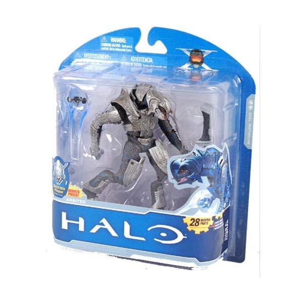 マクファーレン トイズ ヘイロー アクション フィギュア ダイキャスト McFarlane Toys Halo 2 10th Anniversary Series 1 Arbiter Action Figure