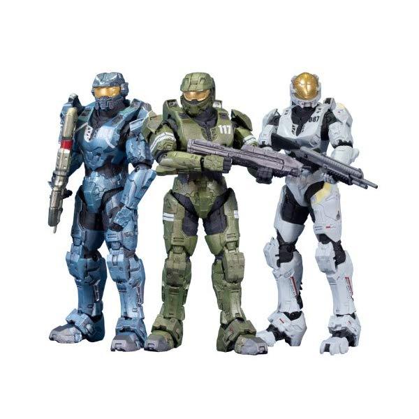 マクファーレン トイズ ヘイロー アクション フィギュア ダイキャスト McFarlane Toys Halo Legends - The Package (3-Pack)