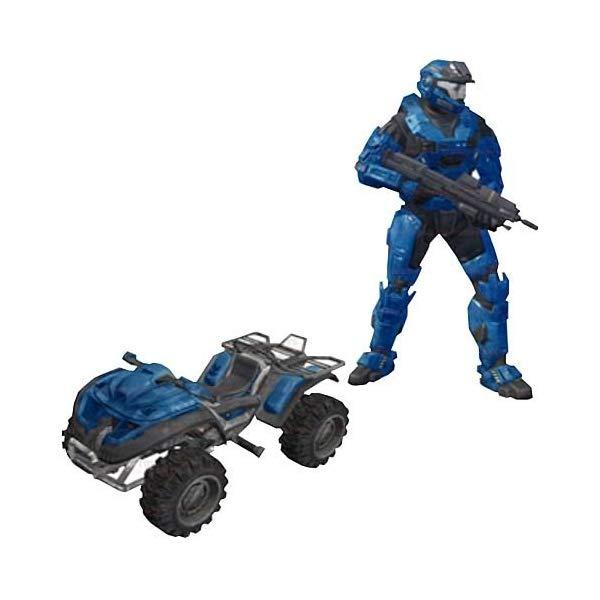 マクファーレン トイズ ヘイロー アクション フィギュア ダイキャスト Halo Reach McFarlane Toys Deluxe Vehicle with Action Figure Boxed Set Rocket ...