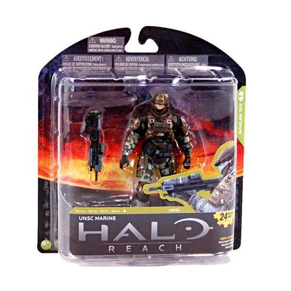 マクファーレン トイズ ヘイロー アクション フィギュア ダイキャスト McFarlane Toys Halo Reach Series 4 UNSC Marine Major Action Figure