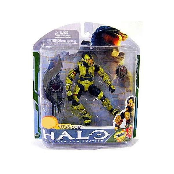 マクファーレン トイズ ヘイロー アクション フィギュア ダイキャスト McFarlane Halo 3 Series 5 Spartan Soldier CQB Exclusive Action Figure [Gold]